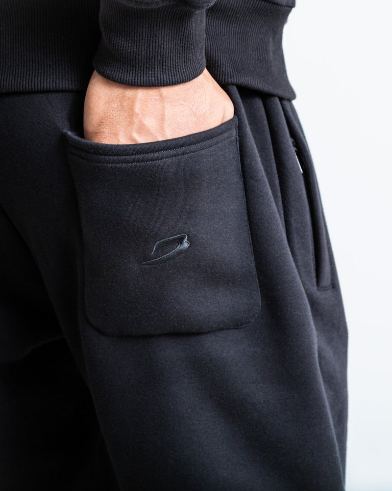 BOXRAW_Johnson Bottoms - Black