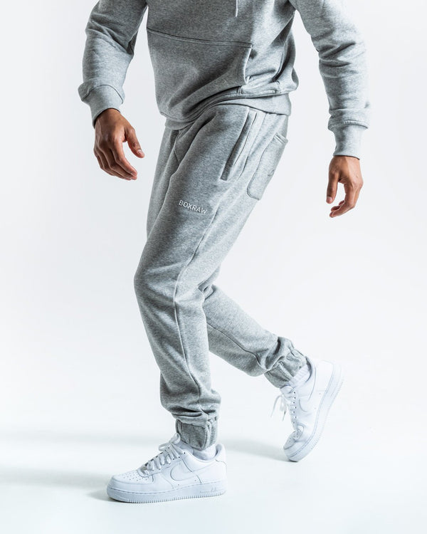 BOXRAW_Johnson Bottoms - Grey