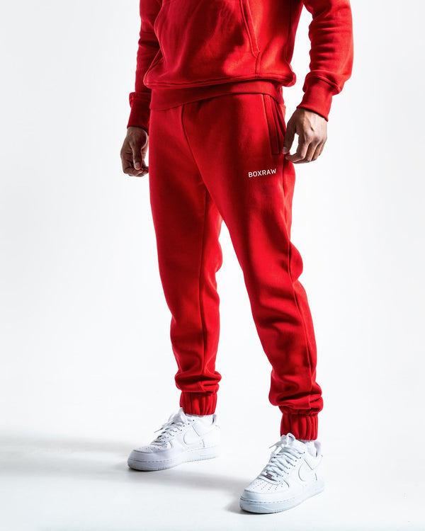 BOXRAW_Johnson Bottoms - Red