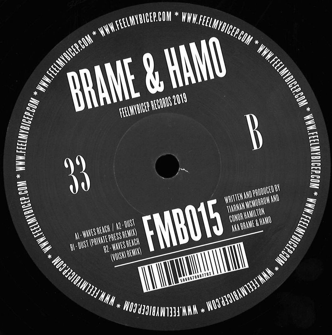 Brame & Hamo ‎– Waves Reach [FMB015]