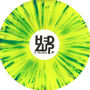 "Various - HEDZUP 5th Anniversary 2x12"" (colored vinyl) [HDZ10]"