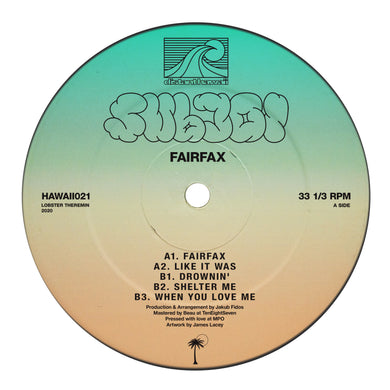 Subjoi - Fairfax EP [HAWAII021] - Pre Order