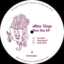 Load image into Gallery viewer, Alex Virgo ‎– Funk Dat EP [PFRITE003] - Bitwax