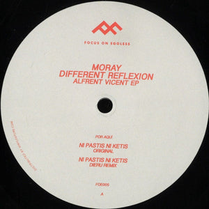 Moray, Different Reflexion ‎– Alfrent Vincent EP [FOE005]