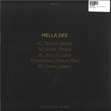 Load image into Gallery viewer, Mella Dee ‎– Techno Belter EP [WM010] - Bitwax