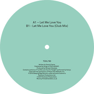 Weiss - Let Me Love You - Bitwax