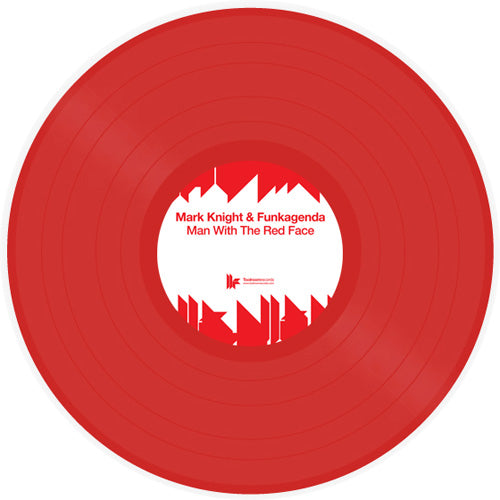 Mark Knight & Funkagenda - Man With The Red Face (Red Vinyl) - Bitwax