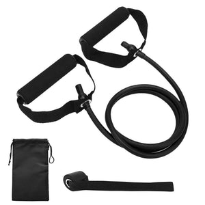 18Pcs Resistance Bands Set Gym Door Anchor Ankle Straps With Bag Kit Set Yoga Exercise Fitness Band Home Rubber Loop Tube Bands