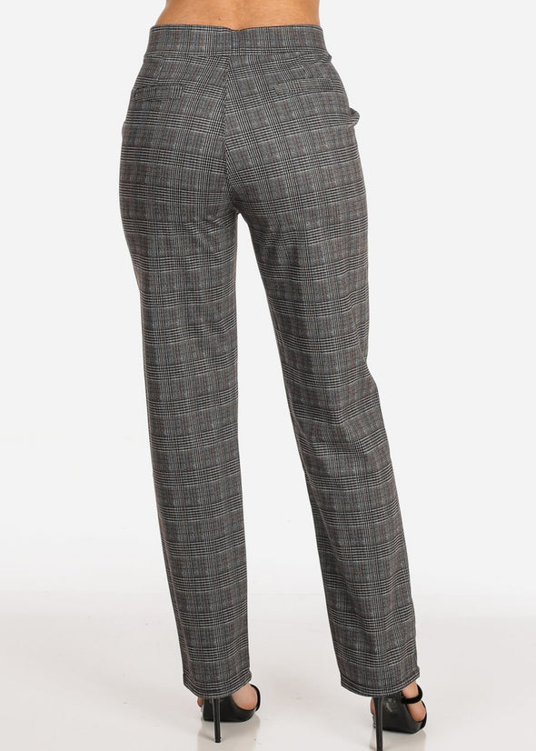 Patterned Dressy Pants