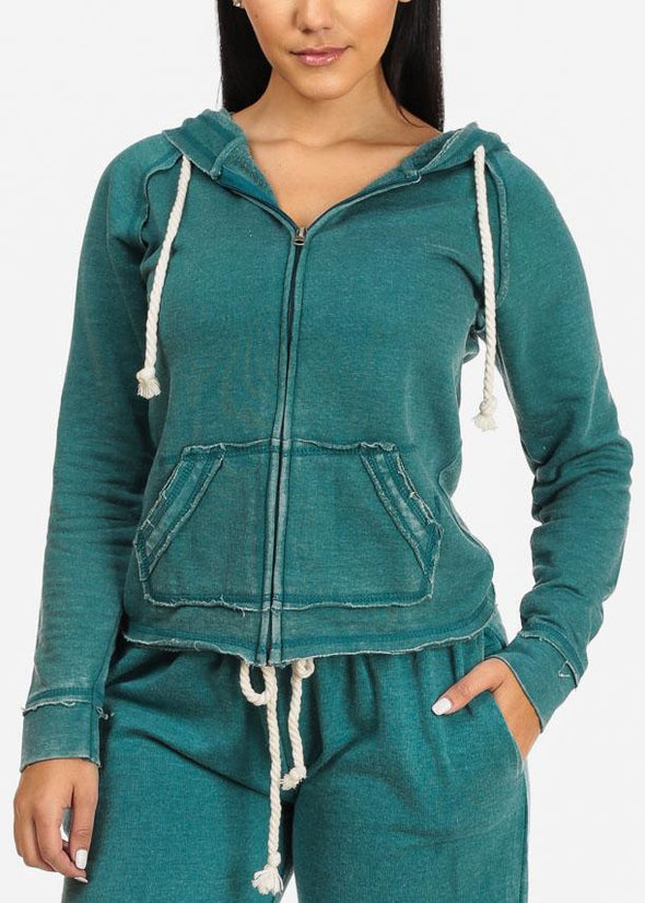 Fleece Zip-Up Sweatshirt