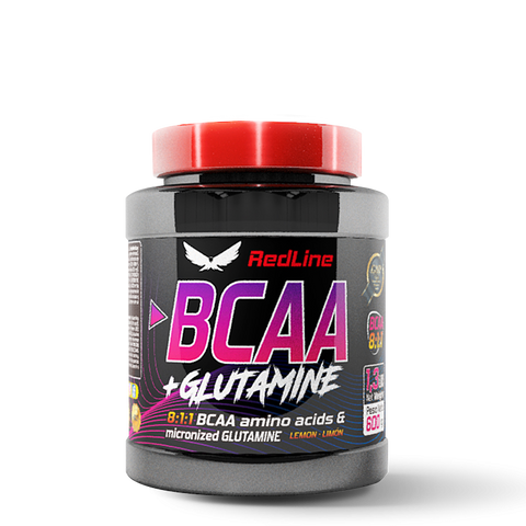 BCAA 8:1:1 + GLUTAMINE RED LINE  600gr