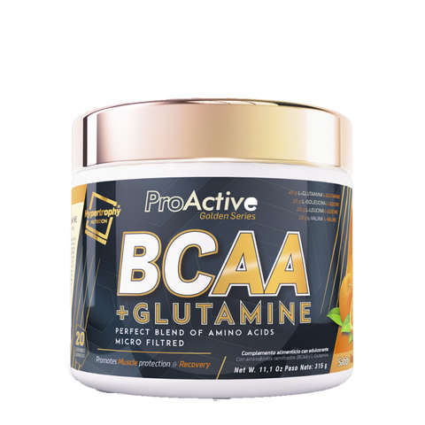 BCAA POWDER + GLUTAMINA   315gr