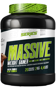 WEIGHT GAINER MASSIVE - BLACK SERIES