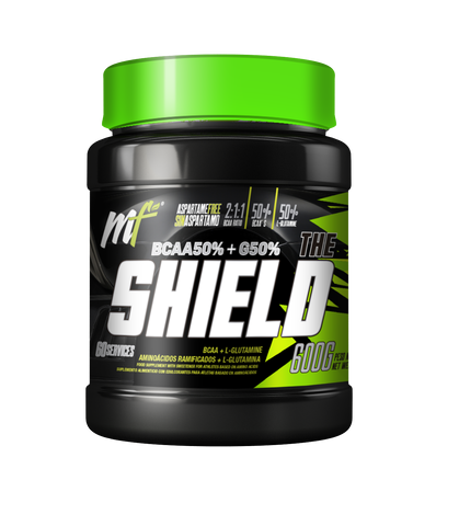 THE SHIELD (50% BCAA + 50% GLUTAMINA)  600gr
