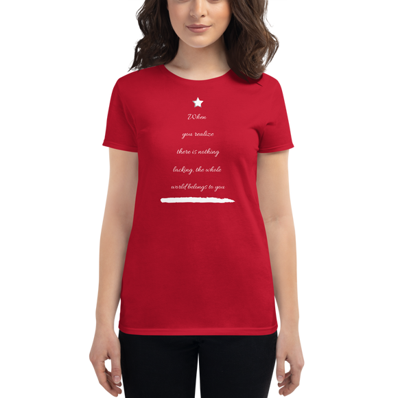 Christmas Tree Women's short sleeve t-shirt