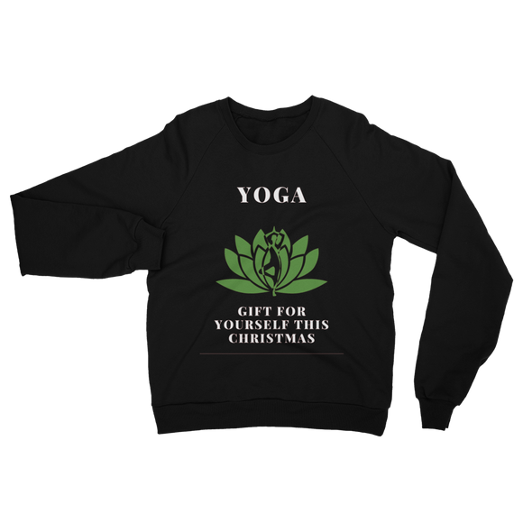 Yoga Gift For Yourself This Christmas Unisex California Fleece Raglan Sweatshirt