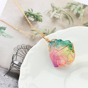 Mood Changing Stone Necklace