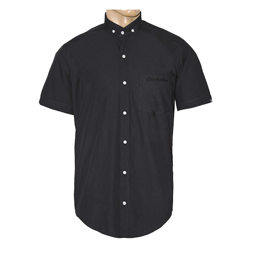 Button Down Short Sleeve Polo