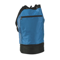 Drawstring Bag with Insulated Pocket