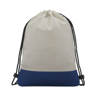 Two-tone Drawstring Bag