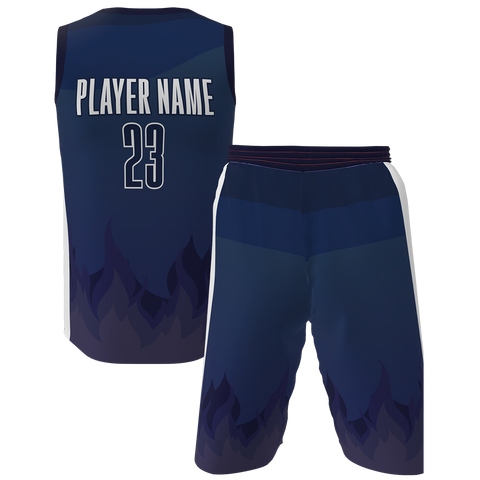 Flame Basketball Jersey