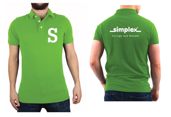 Plain HC Poloshirt (Winner/Target/Lifeline) with Embroidery (1 color front, 1 color back) VAT Inclusive