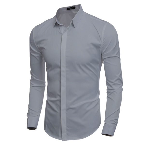 Button Down Long Sleeve Polo