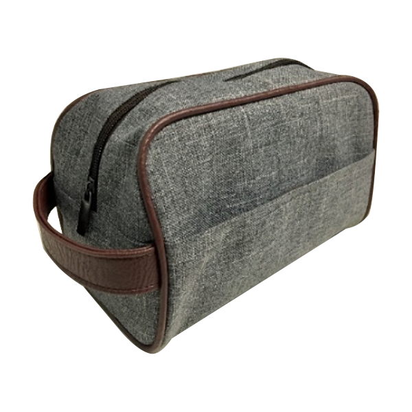 Leatherette Polywash Toiletry Bag