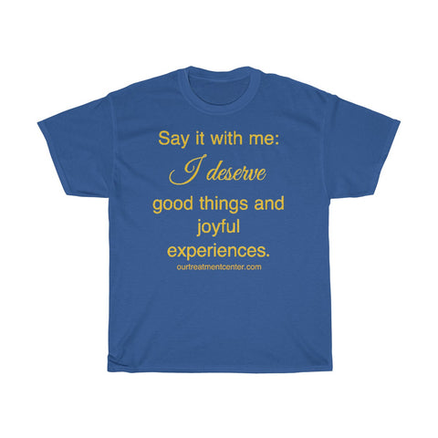 Inspirational Cotton T-shirt