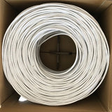 1000Ft Cat6 UTP Solid 4-Pairs Network Ethernet LAN Cable, AWG23 (CT-CAT6U-UTP)
