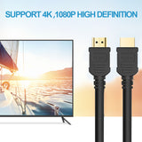 High-Speed HDMI Cables, CENTROPOWER HDMI Cord with Ethernet Audio Return(ARC) Compatible UHD TV, Blu-Ray, Xbox, PS4/3, PC, Apple TV 1 Pack (30FT)