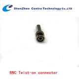 20 Pack CCTV BNC Twist On Connector RG59 Coax Cable Adapter for Security Camera (CT-BNC-TWIST)