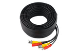 Black Color 100ft Coaxial EN HD Video and Power CCTV Security Camera TVI Cable (CT-HDIY30M-TVI)
