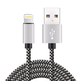 Lightning Cable, Phone Charger 4Pack 3FT 6FT 6FT 10FT,Nylon Braided Lightning to USB Charger Cord for iPhone X/iPhone 8/8 Plus/7/7 Plus/6s/6s Plus/6/6 Plus/5/5S/5C/SE/iPad/iPod