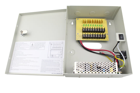 Refurbished of 10A UL Power Box (PS-DC10A09UPC)