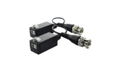 HD VIDEO BALUN for CCTV Cameras EX SDI TVI CVI AHD 2 Pairs Hybrid 4MP Stackable