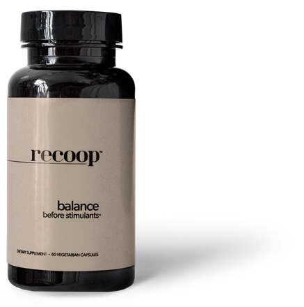 Recoop | Recoop | Reduce The Negative Side Effects of Stimulants