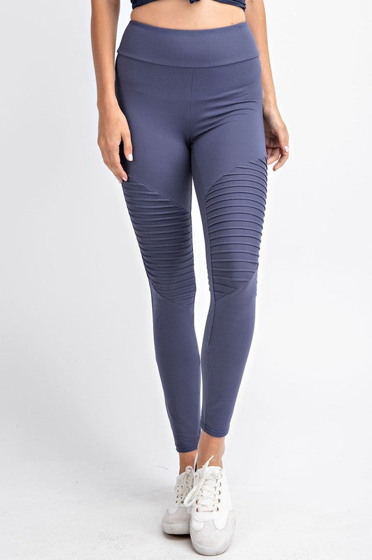 Butter Soft Moto Leggings - Chica Boutique NY