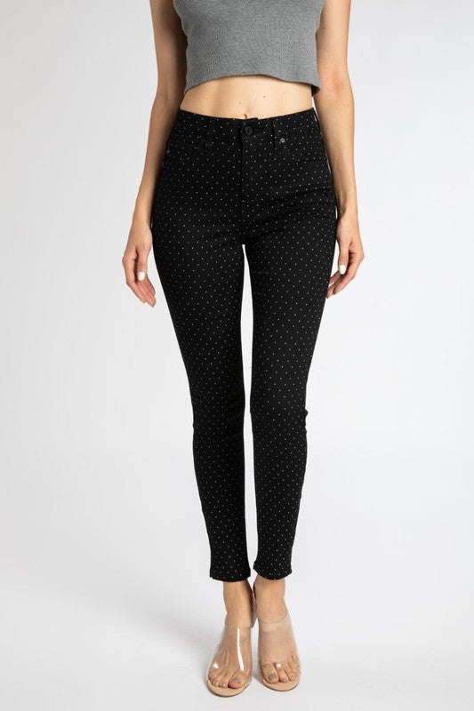 Pin Polka Dot Pants