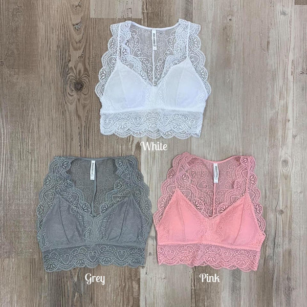 Brace Yourself Bralette - Chica Boutique NY