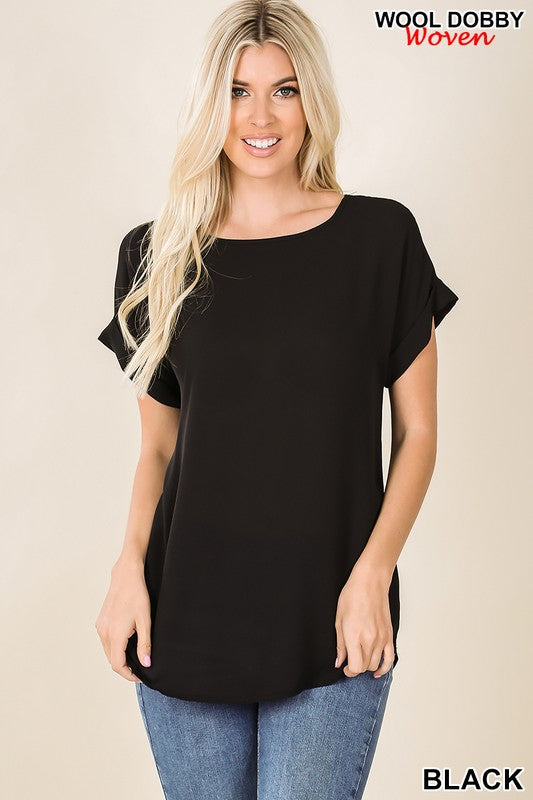 Light Weight Boat Neck Top