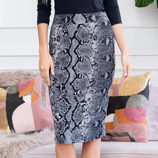 Animal Pencil Skirt