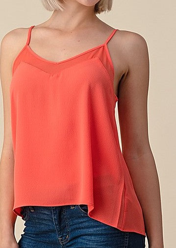 Bubble Crepe Cami