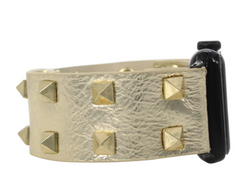 Spike Gold Apple Watch Band