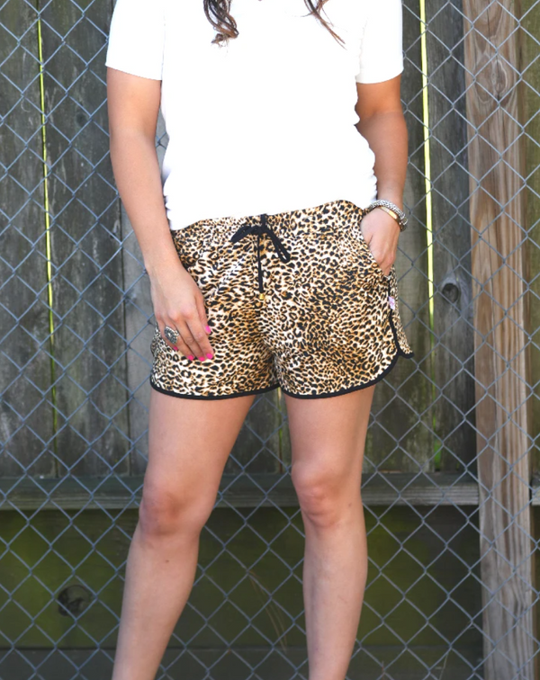 Leopard Everyday Shorts