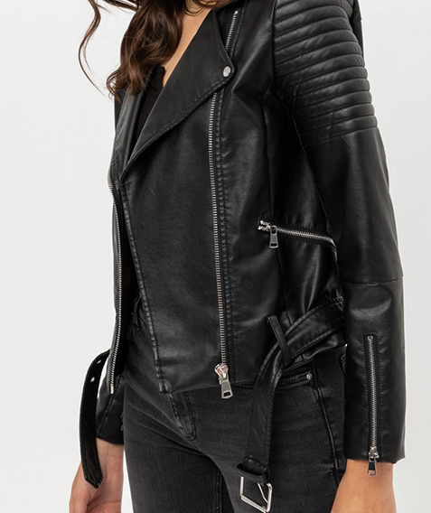 Vegan Motorcycle Jacket