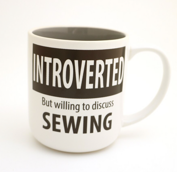 Introverted Sewing Mug