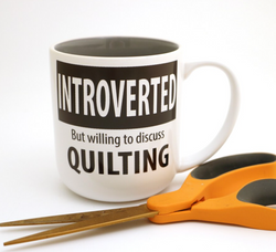 Introverted Quilters Mug