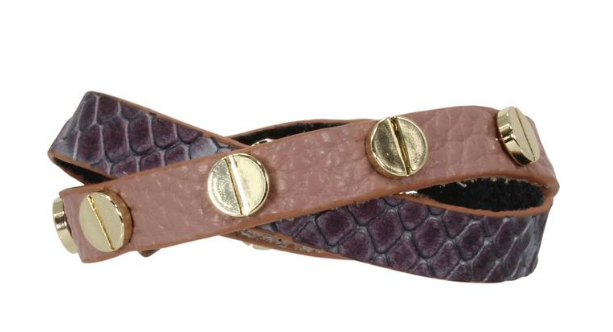 Erimish Leather Wrap - Chica Boutique NY