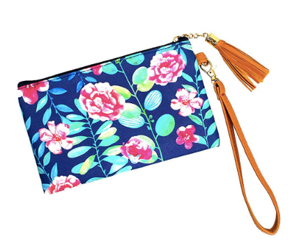 Mini Floral Clutch - Chica Boutique NY